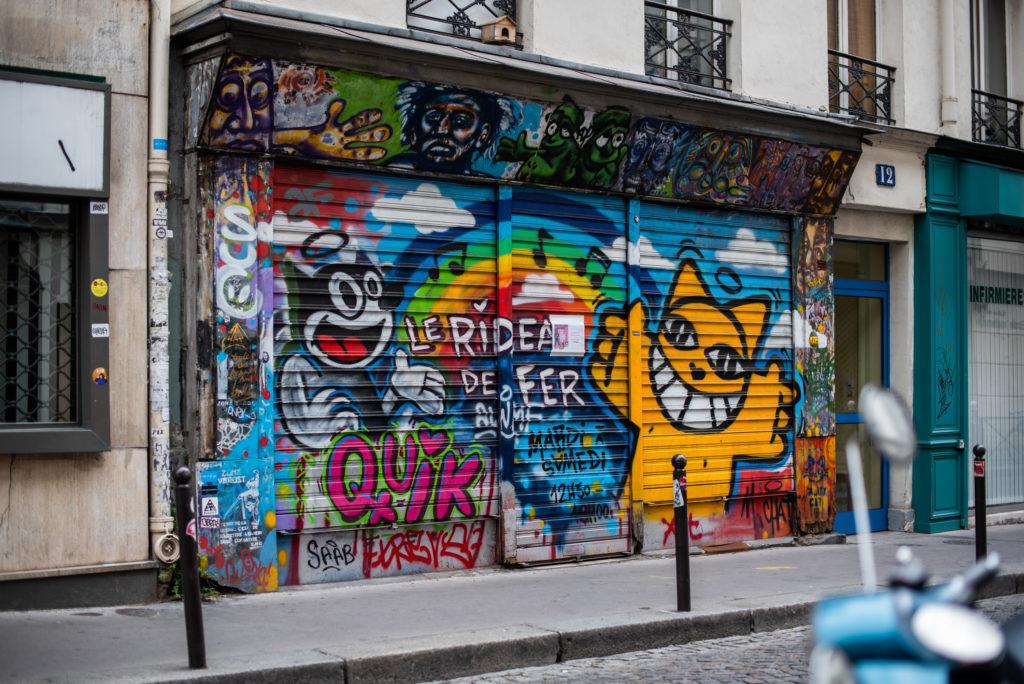 photographe paris - street art parisien