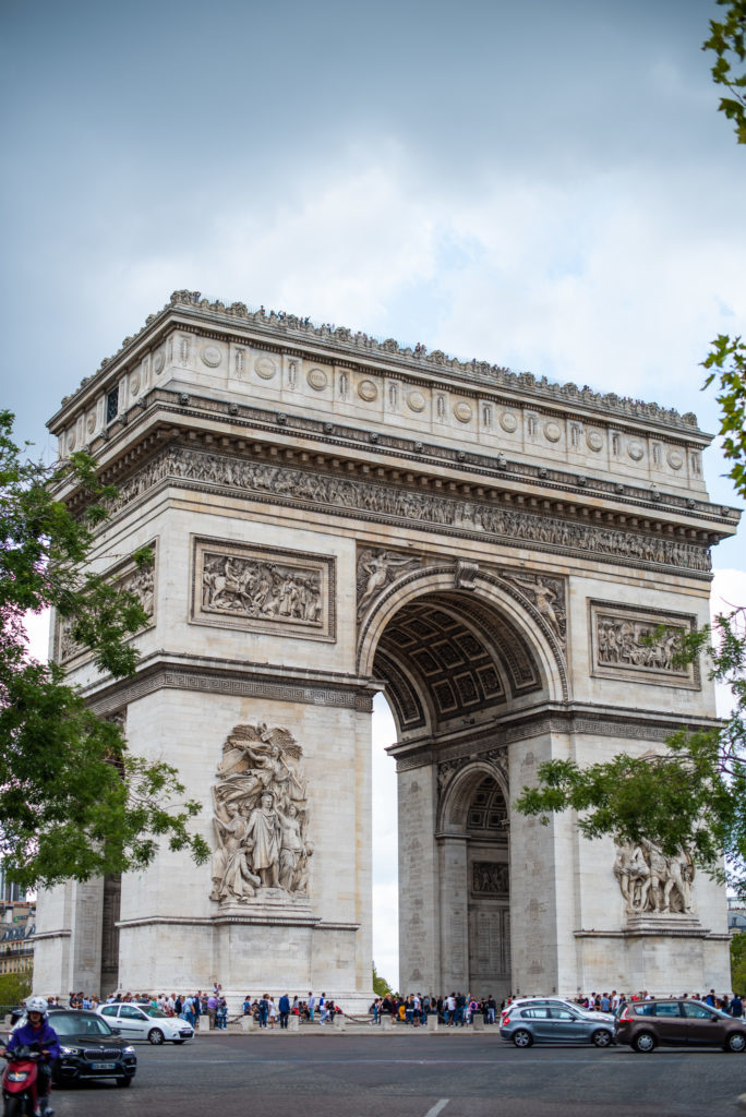 photographe paris - arc de triomphe