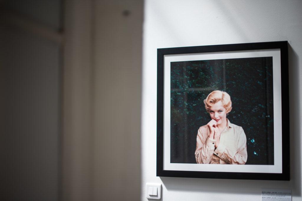 photographe paris - exposition marilyn monroe